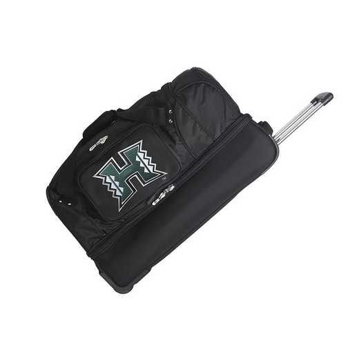 CLHIL300: NCAA Hawaii Warriors 27IN WHLD Duffel Nylon bag